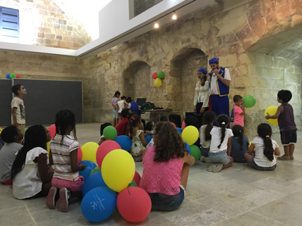 Summer event organised for local children's homes by Valletta Cruise Port Social Club - GLOBAL PORTS HOLDING